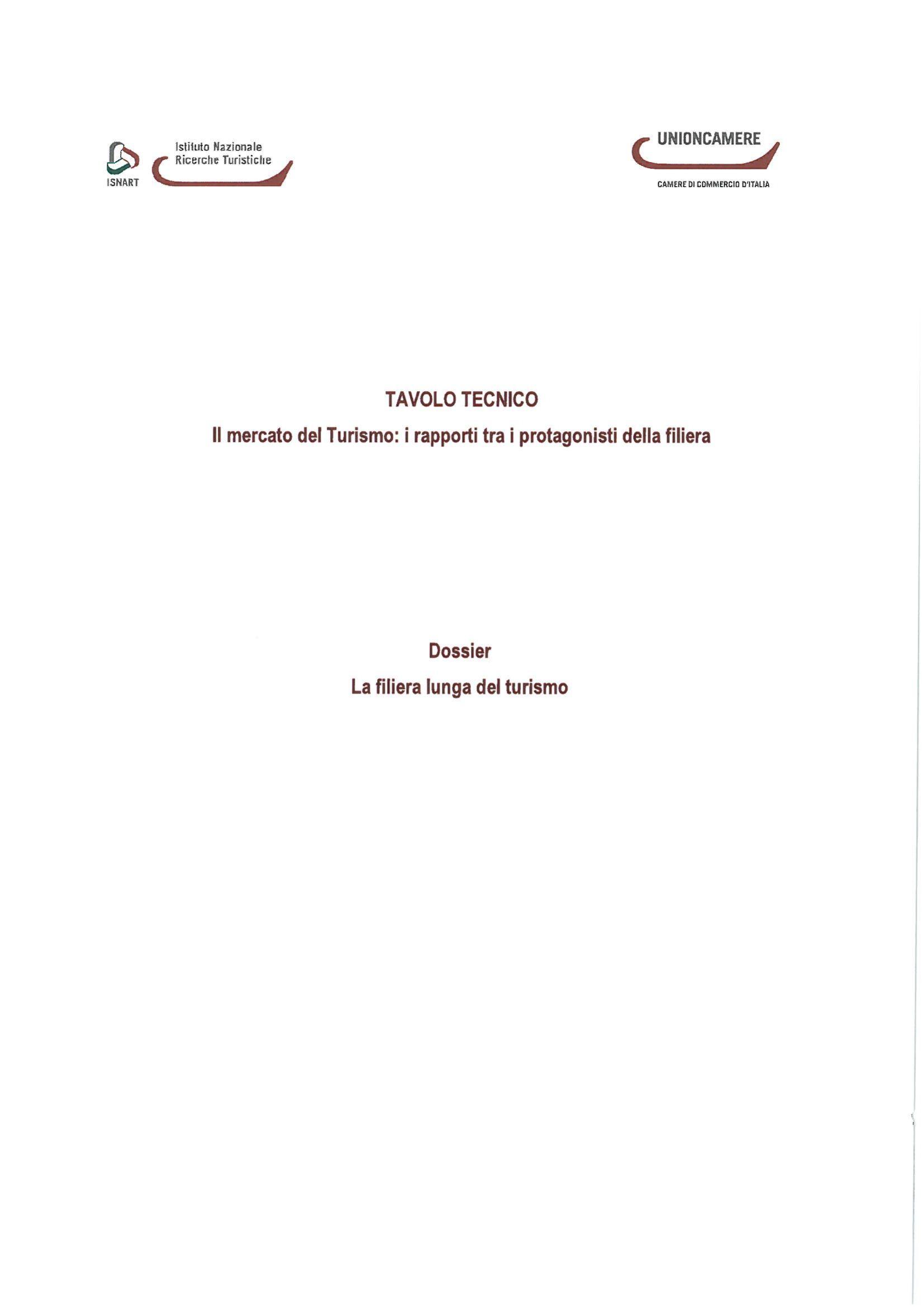 Il mercato del turismo: i rapporti fra i protagonisti della filiera